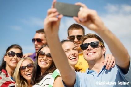 Sonne Selfie