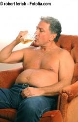 Fettleibiger Männer