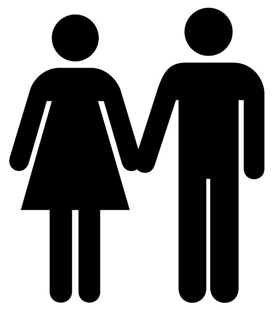 Frau und Mann