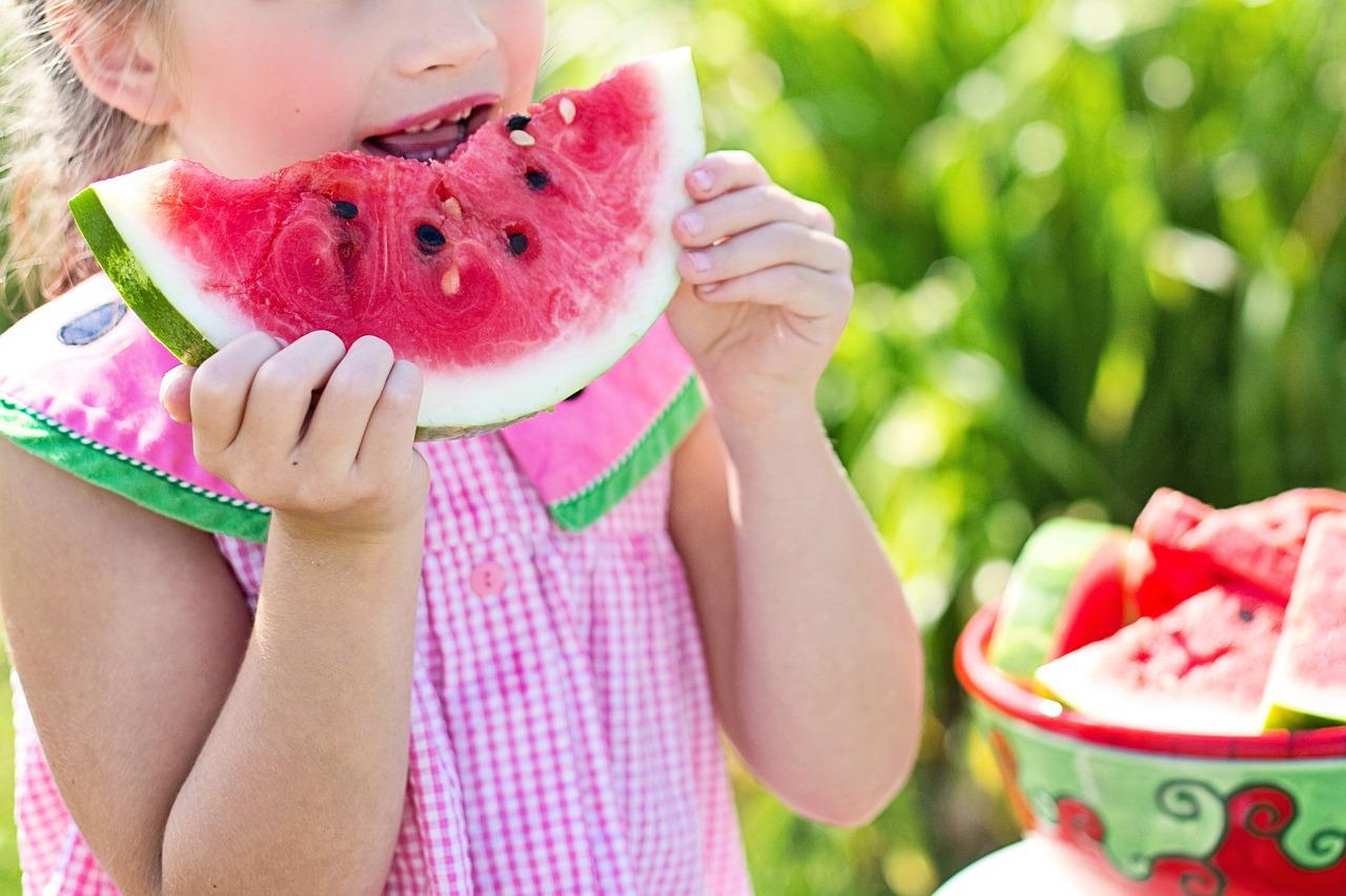 Wassermelone Kind