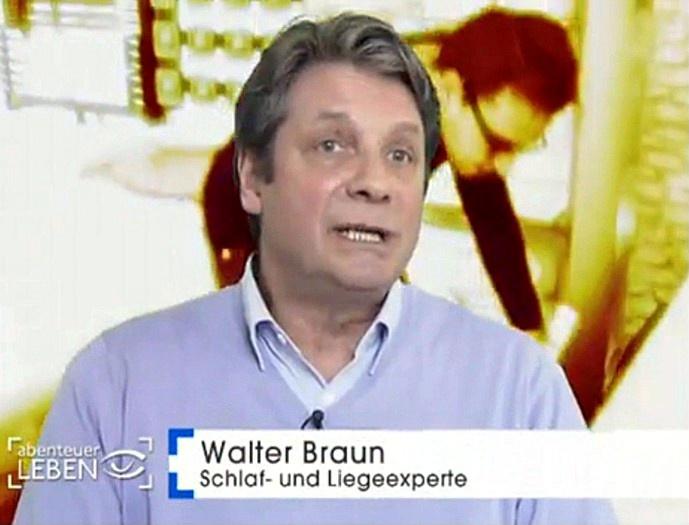 Walter Braun bei Kabel 1