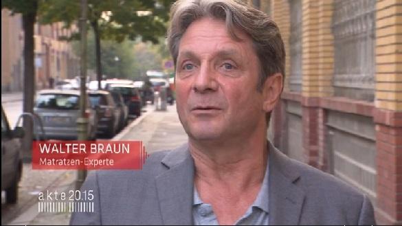 Walter Braun bei Sat1