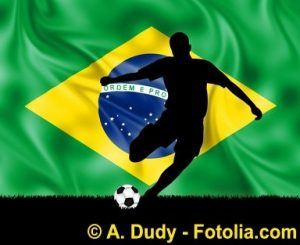 Fußballspieler Brasilien