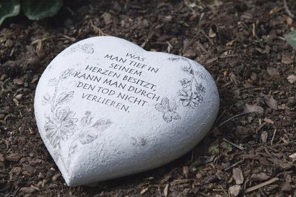Herz Grab