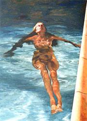 Gemälde Frau