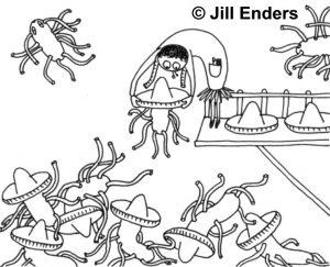 Die Analyse auf die Würmer, wie abzugeben