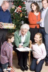 Weihnachtsgeschichte Familie