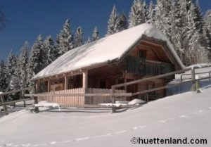 Alpenchalet winter