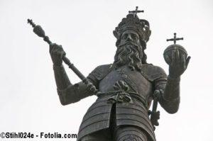 Kaiser Karl der Große führt die Pastinake ein um Hungersnöte vorzubeugen