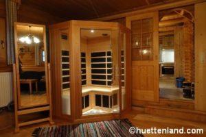 Berghütte Sauna