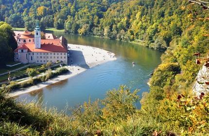 Kloster Weltenburg mit Donaudurchbruch