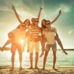 Der Sommer: Biergärten, Festivals und Spaß am See