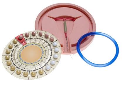 Verhütungsmittel: Pille, Spirale, Vaginalring
