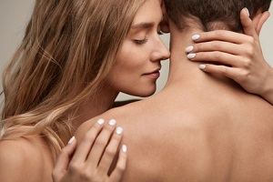 Mann und Frau intim