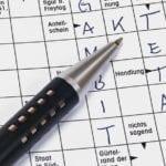Lust auf ein Kreuzworträtsel? Viel Spaß beim Lösen