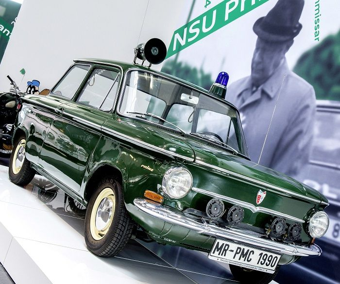 NSU Prinz als Polizeifahrzeug