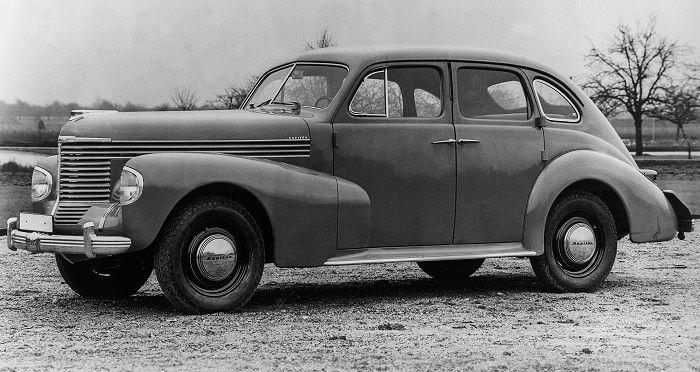 Einer der ersten Opel Kapitän aus dem Jahr 1938
