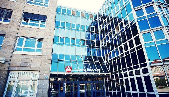 Haus von Agentur für Arbeit