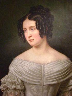 Portrait der Prinzessin-Therese-von-Sachsen-Hildburghausen