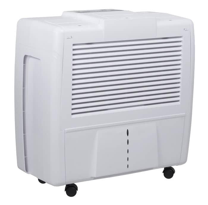Ein weißes Luftbefeuchter Gerät